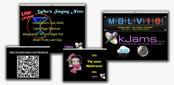 Karaoke Custom Showcases